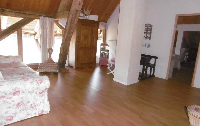 Location de vacances - Gîte à Pourlans - mezzanine