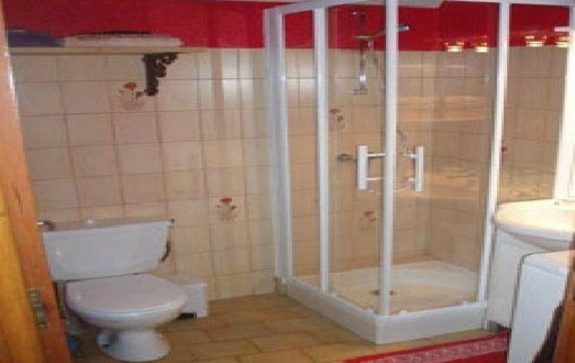 Location de vacances - Gîte à Saint-Pierre-de-Nogaret - Salle d'Eau + WC