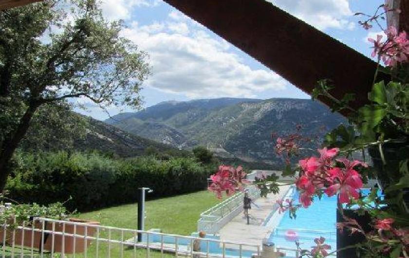 Location de vacances - Villa à Entrechaux