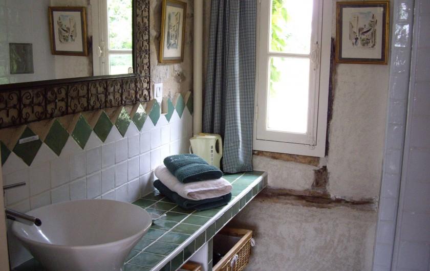 Location de vacances - Maison - Villa à Vitry-aux-Loges - Salle d'eau (douche-WC)
