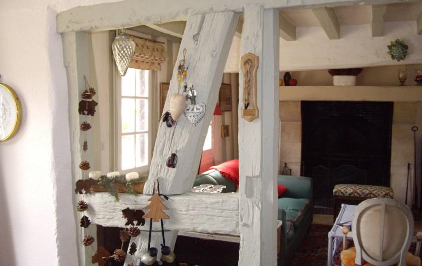 Location de vacances - Maison - Villa à Vitry-aux-Loges - Entrée - vue salon