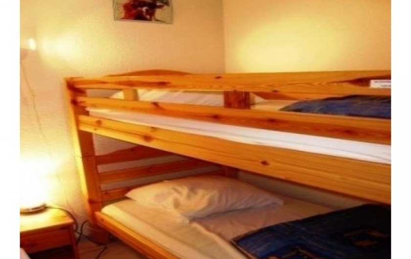 Location de vacances - Studio à Luz-Saint-Sauveur - lits superposés
