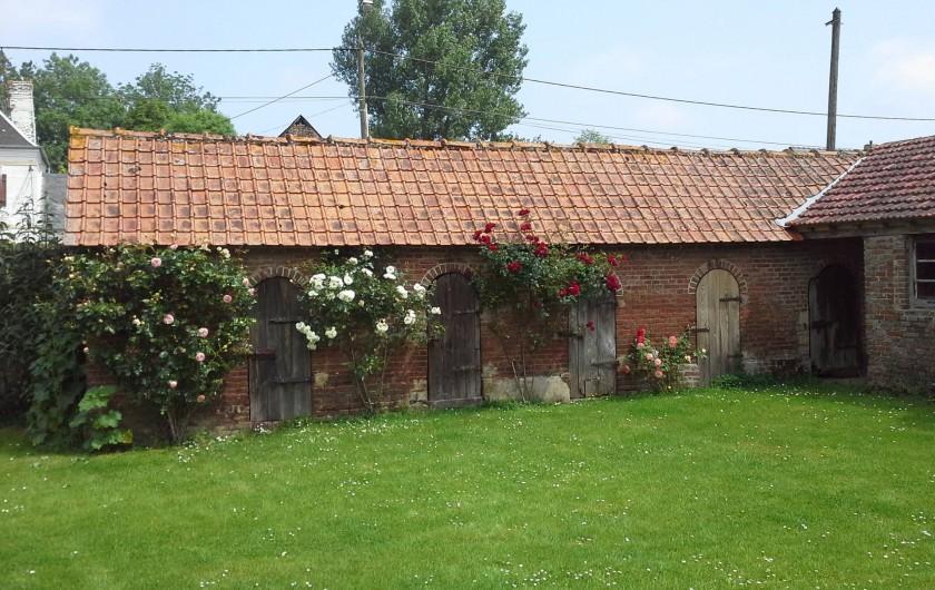 Location de vacances - Maison - Villa à Sailly Bray - cour de ferme