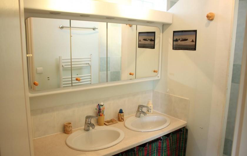 Location de vacances - Maison - Villa à Sailly Bray - salle de douche