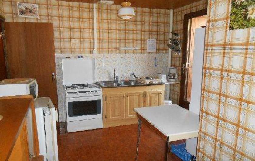 Location de vacances - Appartement à Pralognan-la-Vanoise - La cuisine