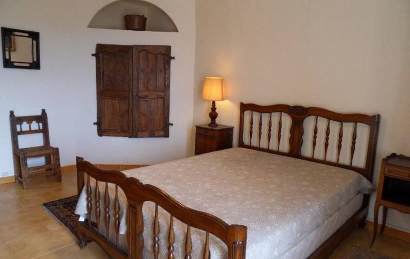Location de vacances - Mas à L'Albère - la chambre rustique