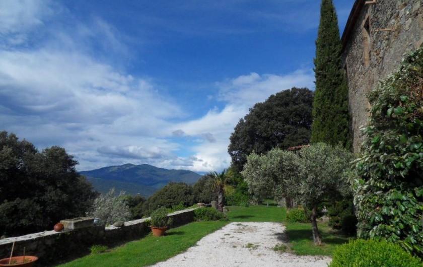Location de vacances - Mas à L'Albère - la terrasse