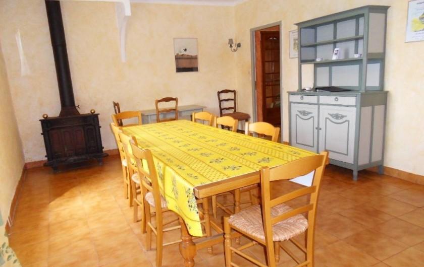 Location de vacances - Mas à L'Albère - la salle-à-manger