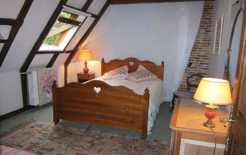 Location de vacances - Gîte à Montrichard - Chambre avec un lit de 140 et Un lit de 90