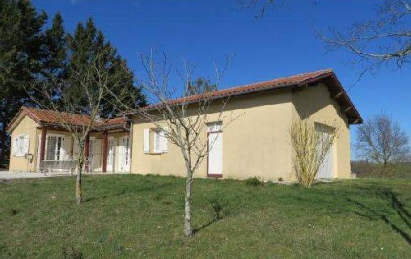 Location de vacances - Maison - Villa à Tournan - Autre vue du gîte (prise en hiver)