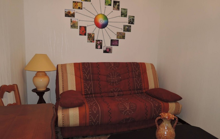 Location de vacances - Maison - Villa à Tournan - Le salon et le canapé BZ