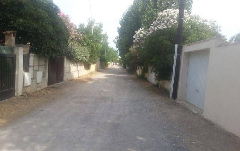 Location de vacances - Villa à Valras-Plage - IMPASSE PRIVE