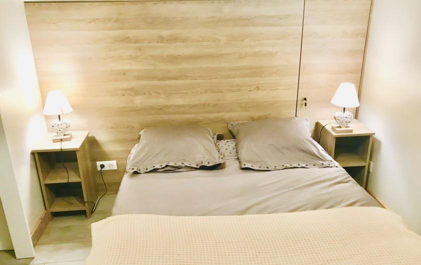 Location de vacances - Appartement à Saint-Sorlin-d'Arves - lit 160x200 chambre adulte N°2