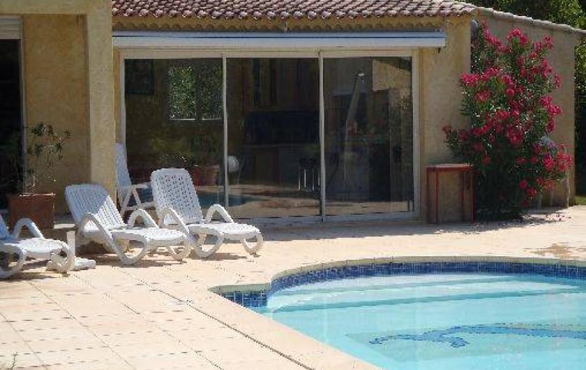 Location de vacances - Villa à Tourves