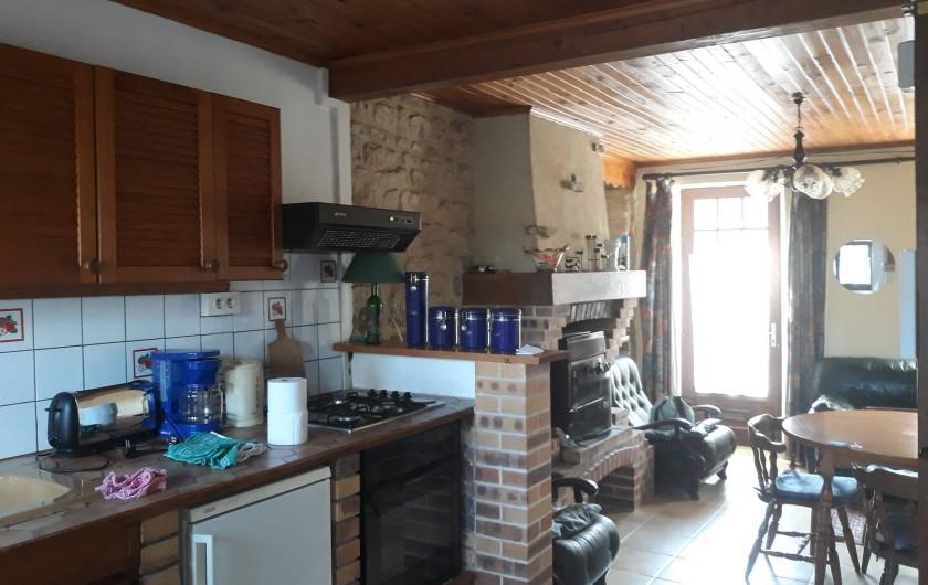 Location de vacances - Appartement à Sainte-Marie-du-Mont - Pièce principale