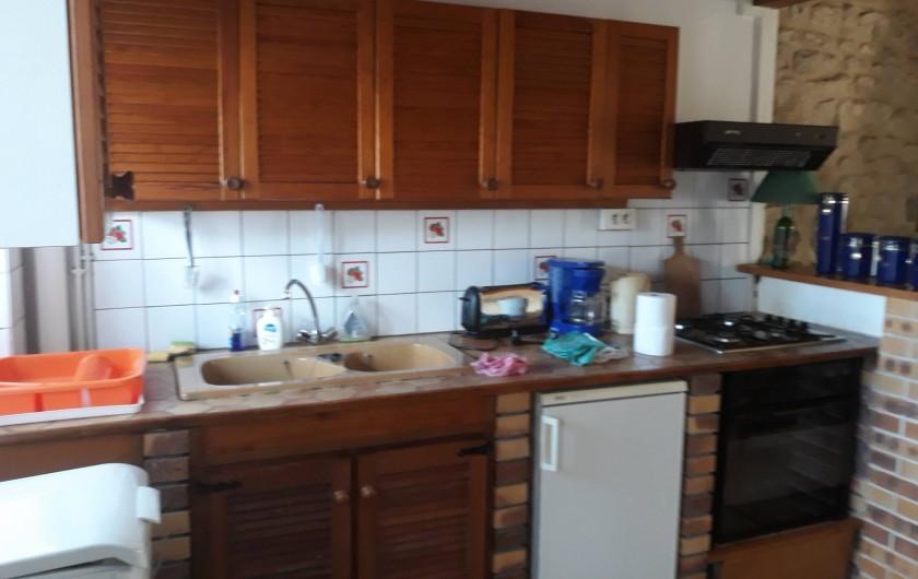 Location de vacances - Appartement à Sainte-Marie-du-Mont - cuisine