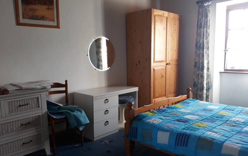 Location de vacances - Appartement à Sainte-Marie-du-Mont - chambre double