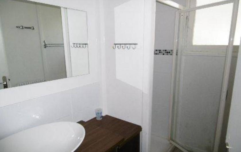 Location de vacances - Chalet à Alex - salle d'eau 1er étage