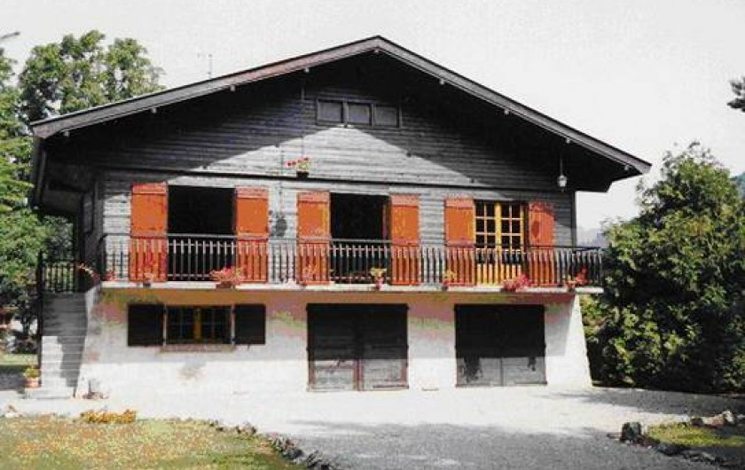 Location de vacances - Chalet à Alex - chalet l'été