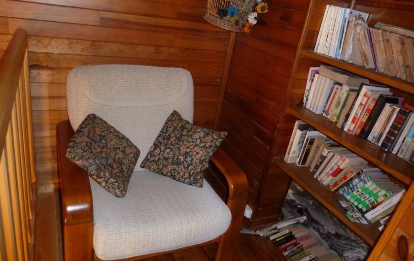 Location de vacances - Chalet à Alex - Coin lecture