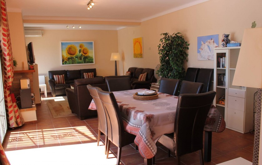 Location de vacances - Villa à Pau - salle à manger
