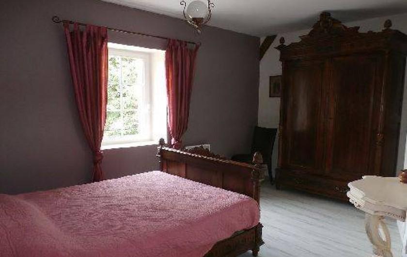 Location de vacances - Maison - Villa à Saint-Avit - Chambre 2 : 1 lit (2 places)