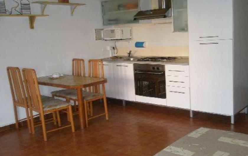 Location de vacances - Studio à Saint-Raphaël - CUISINE STUDIO 1