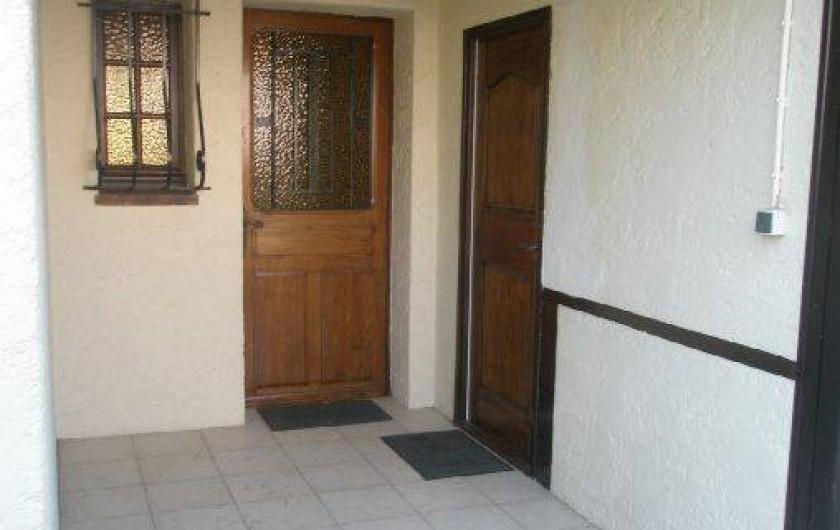 Location de vacances - Studio à Saint-Raphaël - Entrée des appartements