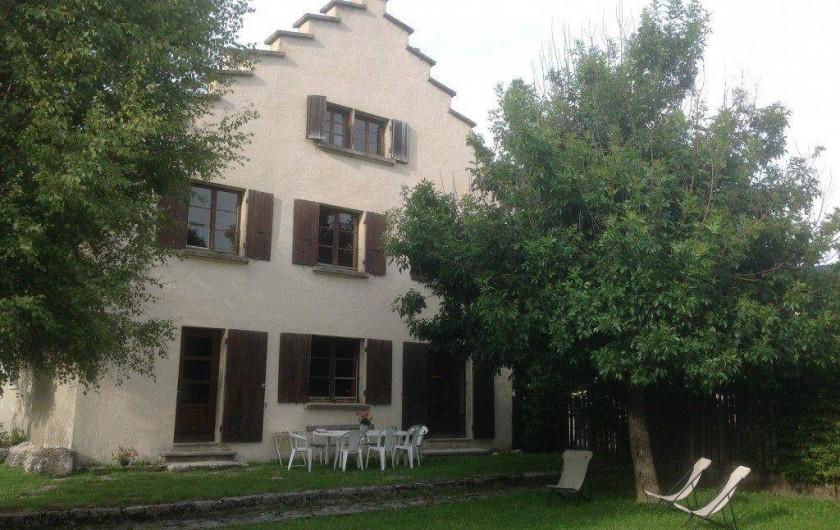 Location de vacances - Maison - Villa à Autrans-Méaudre en Vercors - VUE GENERALE DE LA MAISON