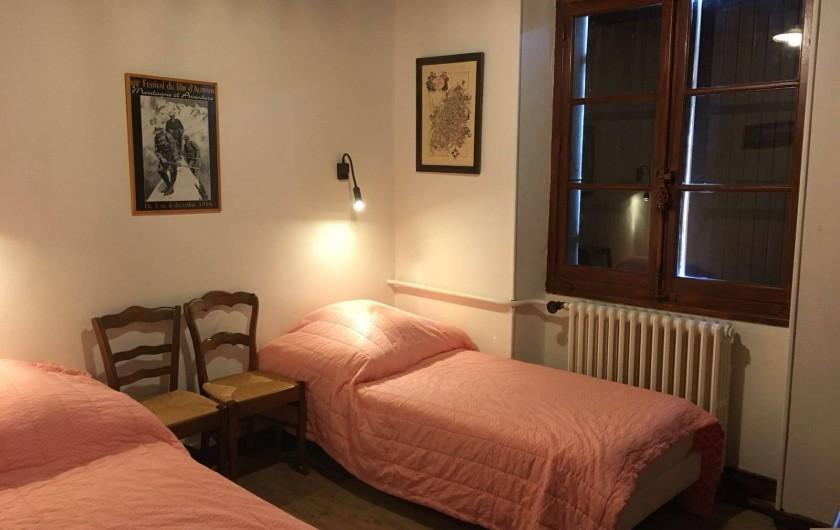 Location de vacances - Maison - Villa à Autrans-Méaudre en Vercors - CHAMBRE 2