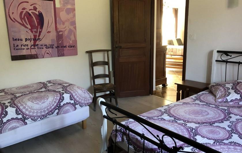 Location de vacances - Villa à Proissans - La chambre Rose