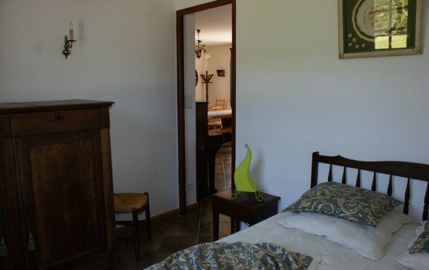 Location de vacances - Villa à Proissans - La chambre Verte