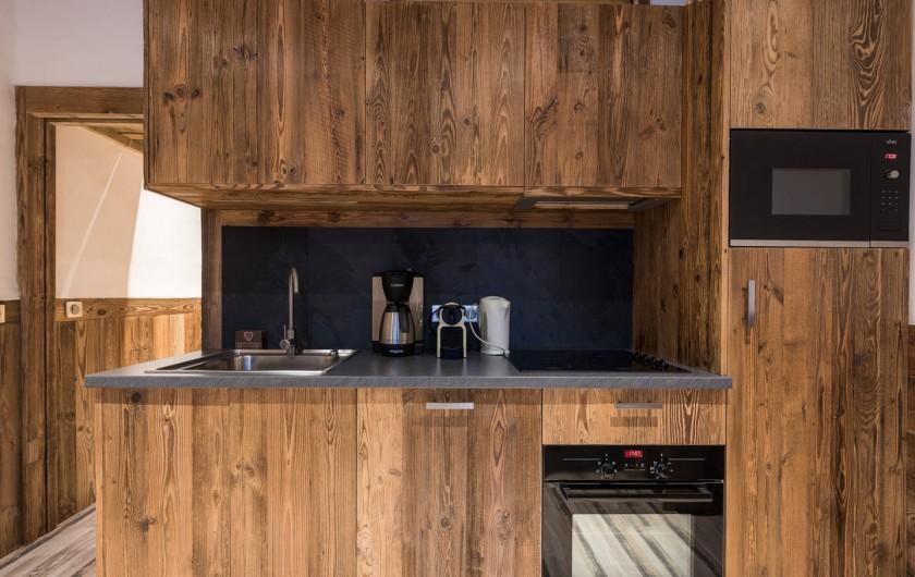 Location de vacances - Appartement à Val-d'Isère - Cuisine