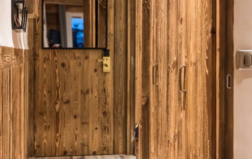 Location de vacances - Appartement à Val-d'Isère - Couloir d'entrée