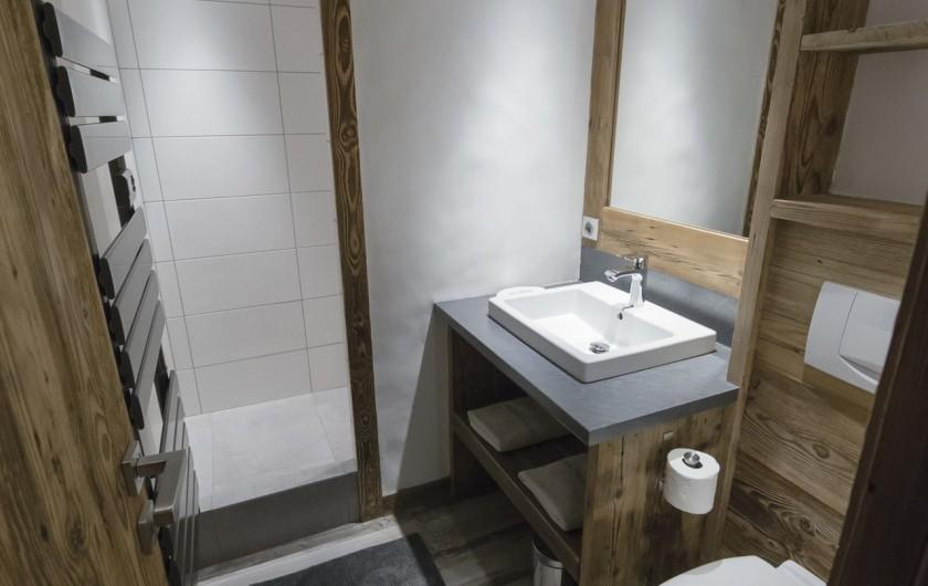 Location de vacances - Appartement à Val-d'Isère - Salle d'eau