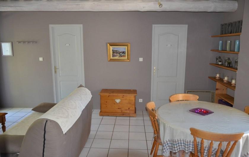 Location de vacances - Mas à L'Isle-sur-la-Sorgue - COIN SALLE A MANGER