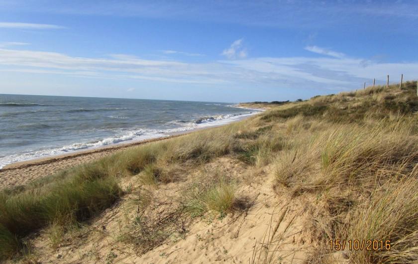 Location de vacances - Villa à La Cotinière - les dunes