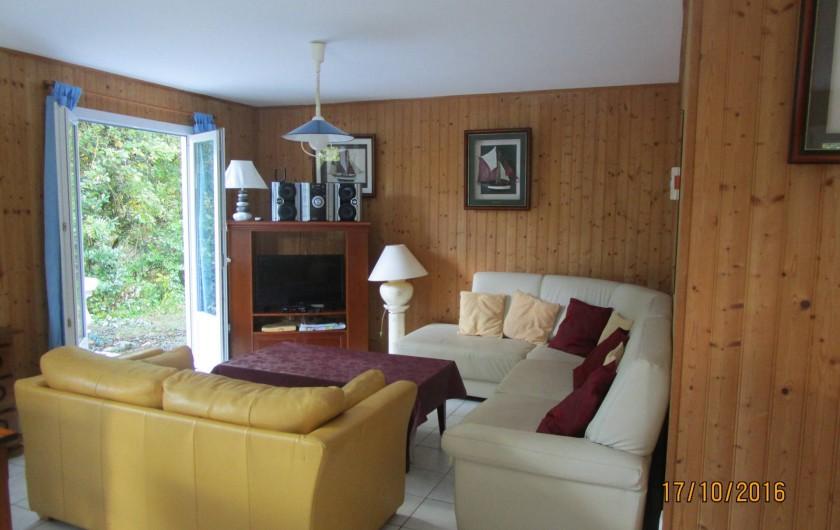 Location de vacances - Villa à La Cotinière - salon