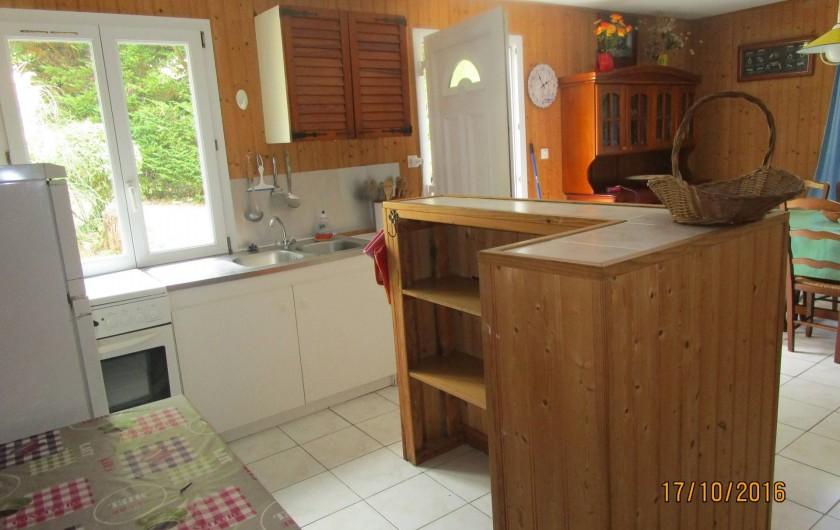 Location de vacances - Villa à La Cotinière - coin cuisine