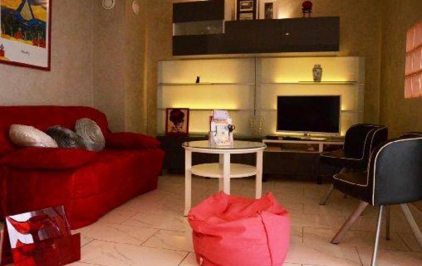 Location de vacances - Appartement à Troyes - Salon