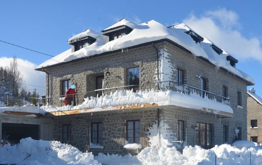 Location de vacances - Gîte à Besse-et-Saint-Anastaise - GRANIT ROSE ET GRIS