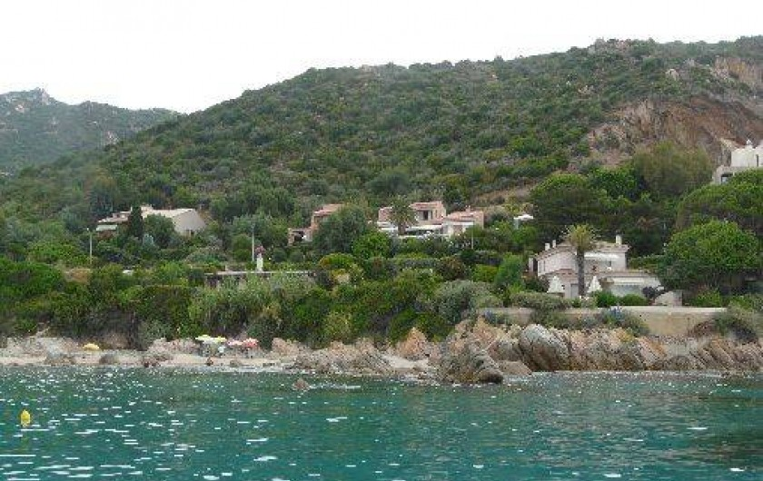 Location de vacances - Villa à Ajaccio -             VILLA  VUE DE LA MER