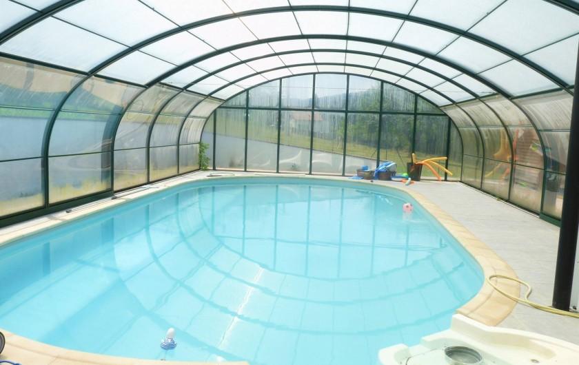 Location de vacances - Appartement à Ban-de-Laveline - Piscine couverte et chauffée de mai à septembre