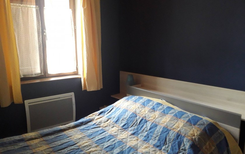 Location de vacances - Appartement à Ban-de-Laveline - une des 2 chambres 2 personnes grand gîte