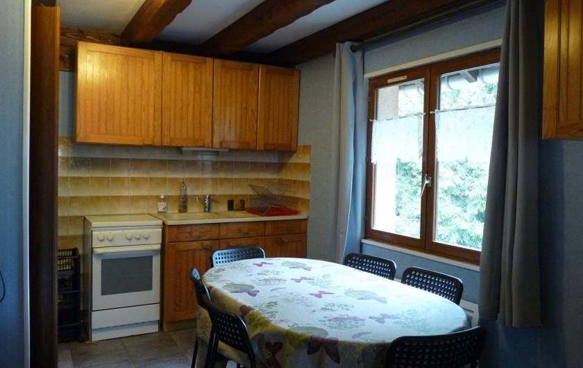 Location de vacances - Appartement à Ban-de-Laveline - coin cuisine petit gîte