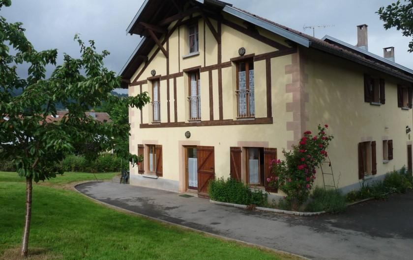 Location de vacances - Appartement à Ban-de-Laveline - Accès au grand gîte