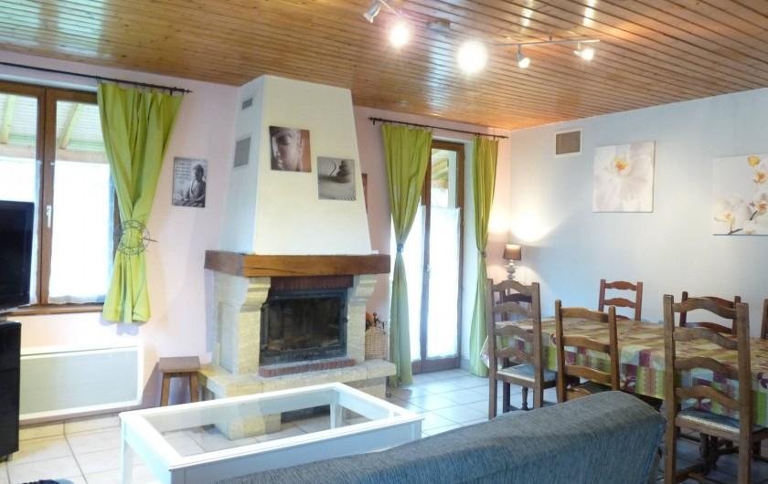 Location de vacances - Appartement à Ban-de-Laveline - salon grand gite