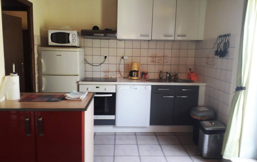 Location de vacances - Appartement à Ban-de-Laveline - coin cuisine grand gite