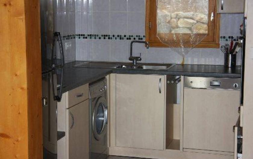 Location de vacances - Chalet à Super Besse - Vue de la cuisine