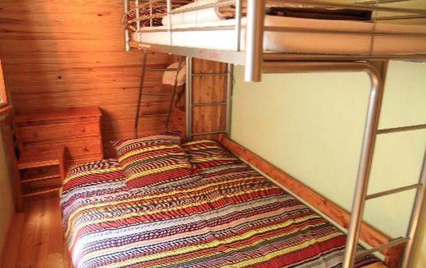 Location de vacances - Chalet à Super Besse - La petite chambre
